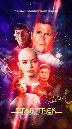 Film Star Trek, Star Trek 1, Star Trek Show, Star Trek Series, Star Trek Original Series, Science Fiction, Star Trek Posters, Movie Posters, Star Trek Convention