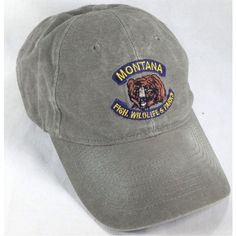 6bf36bf3 0 Strapback Hats, Wildlife Park, Dad Hats, Baseball Cap, Montana, Parks