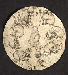d104a9ed6 ... card Master P W of Cologne (active about Engraving on paper, lettered 9  and VIIII Cologne, Germany About 1500 Museum no. / Victoria and Albert  Museum