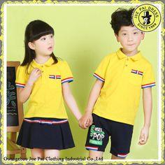 Estilo Koreal moderna uniformes escolares de Kindergarten para los . 69ed6ea77de26