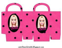 barbie bag  Casinha de Criança: Kit Festa da Barbie para Imprimir . ..♥.Nims.♥