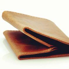 Band wallet - vintage. #germanmade #design #wallet #leather