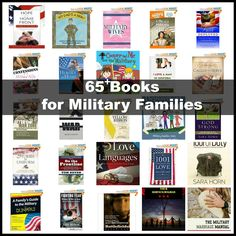 65+ Books for Military Families - Books for Military Life, Deployment, PTSD, Military Marriage, Military Kids, and also including Fiction, Non-Fiction, Bibles, and Devotionals. #militarylife #books