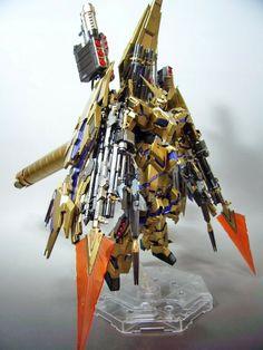1/100 Full Armor Unicorn Gundam 03 Phenex - Customized Build