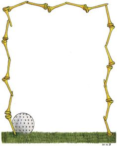 golf theme graphics and backgrounds with borders frames and word rh pinterest com Golf Tee Clip Art golf clipart borders