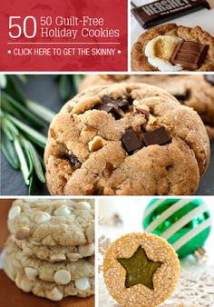 Round up of 50 cookies recipes that you need to try.