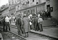 Payday, coal mining town, Omar, West Virginia (1938)