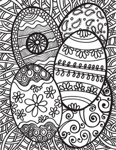 Abstract Doodles: Free Easter Printables