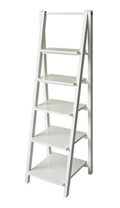 Casual Home 5 Tier Ladder Shelf, White Designstyles http://www.amazon.com/dp/B00P1BJLDU/ref=cm_sw_r_pi_dp_kW20vb1267E7M