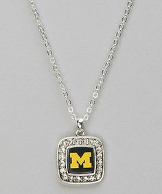 Take a look at this Michigan Spirit Necklace - Women by From the Heart on #zulily today!