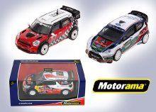 Az autók szerelmeseinek: díszdobozos Motorama versenyautó modell, 1:32-es méretarányban, 3 különböző típusban