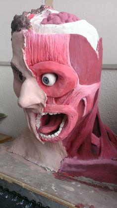 clay sculpture
