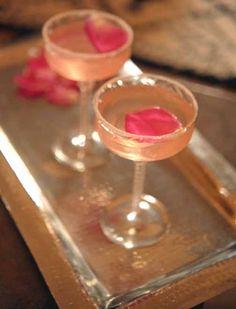 Rose Pedal garnish.. Prefect for Valentines