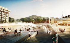Galería de GRAFT gana concurso para diseñar la Plaza de las Rosas en Georgia - 1