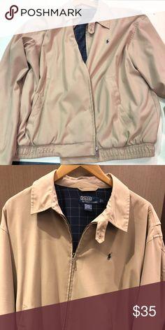 b160d96d368 Polo Ralph Lauren Fall Jacket Khaki color