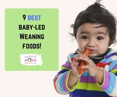 Baby-led weaning (BLW) is a method to introduce solids to the baby when he is ready. The solids are introduced in the actual form and not the pureed form. This method doesn't involve feeding the baby with a spoon. Weaning Foods, Introducing Solids, Baby Led Weaning, Spoon, Babies, Mom, Babys, Spoons, Baby