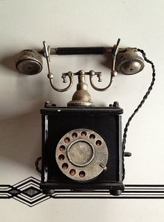 Vintage photography, old fashioned phone, call me, telephone, phone Phone Photography, Vintage Photography, Video Photography, Shabby Vintage, Vintage Antiques, Retro Phone, Vintage Phones, Old Phone, Landline Phone