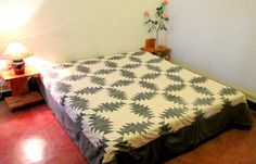 Bedcover Grey & White Patchwork (BCPP)
