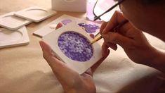 Curso online pintura decorativa, técnica posavasos con resina, MaryIbarr...