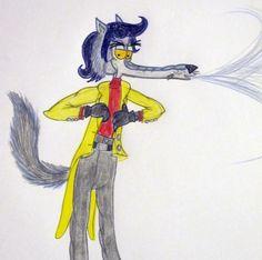 Louper Big Bad Wolf; he huff and puff air breath!!!!