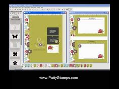 My Digital Studio Video Tutorial - making stationery
