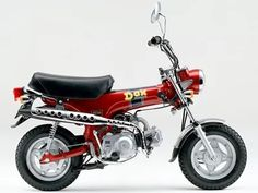 HONDA DAX red | Sumally