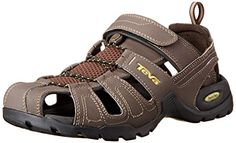 Teva Men's M Forebay Sandal Turkish Coffee, 8 M US *** Check out the image by visiting the link.