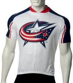 NHL Columbus Blue Jackets Mens Cycling Jersey White XSmall >>> Continue to the product at the image link.Note:It is affiliate link to Amazon.