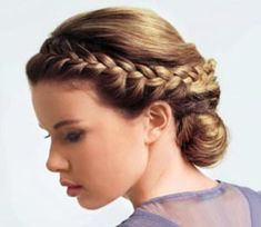 En güzel yeni örgü saç modelleri - Most Beautiful Braided Hairstyles Grecian Hairstyles, Goddess Hairstyles, Pretty Hairstyles, Wedding Hairstyles, Evening Hairstyles, Graduation Hairstyles, Romantic Hairstyles, Wedding Updo, Girl Haircuts