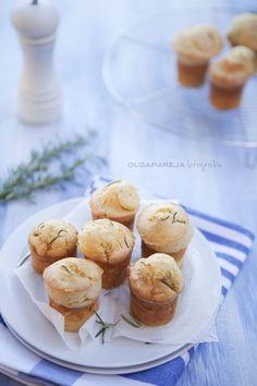 Nina's Kitchen: Muffins de parmesano