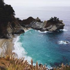 """McWay Falls in Big Sur ❤️ #mothernature #beauty #bigsur #gmgtravels #mcwayfalls"" Photo taken by @juliahengel on Instagram, pinned via the InstaPin iOS App! http://www.instapinapp.com (09/29/2015)"