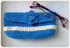 Porta - Óculos Azul