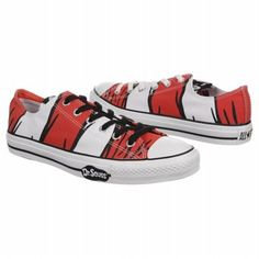 just take a look at that, this Converse sneaker has stripes from the Cat's favorite hat!