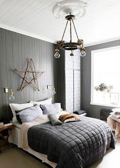 Décoration style nordique & Bohème. http://www.m-habitat.fr/par-pieces/chambre/mobilier-de-chambre-2621_A