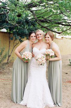 Stefanie + Charlie's Organic Wedding | Allure Bridals