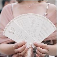 fan shaped wedding ceremony program - Alicia and Erik had a chic and sophisticated Manhattan wedding at the rooftop venue 620 Loft Wedding Program Fans, Wedding Ceremony Programs, Wedding Party Invites, Wedding Fans, Mod Wedding, Wedding Stationary, Wedding Paper, Wedding Events, Weddings
