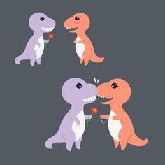 T-rex's Valentine