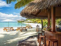 Bar at Sheraton Maldives Full Moon ~ Beautiful Island!!!