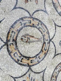 Basilica of Aquileia, Italy Ancient Romans, Ancient Art, Carthage, Mosaic Patterns, Fabric Patterns, Splatter Art, Roman History, Roman Art, Medieval Art