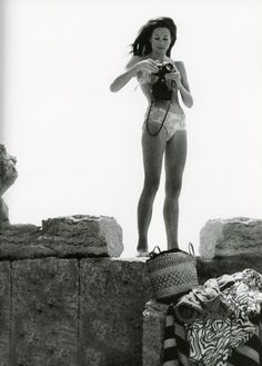 Jacquline de Ribes. Photography by Countess Marina Cicogna from her book Scritti e Scatti.