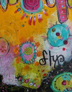 """flyacrylicpaintingbyjodiohl  stop by my blog post today, """"Keeping up with Change""""  http://sweetrepeats.blogspot.com/2015/02/keeping-up-with-change.html"""