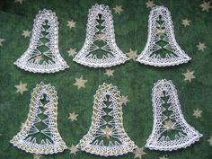 Bobbin Lace, Arts And Crafts, Easter, Christmas, Christmas Balls, Bobbin Lace Patterns, Christmas Jewelry, Xmas, Yule