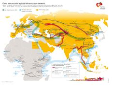 The Silk Road Economic Belt - Chinese development strategy to build a global infrastructure network