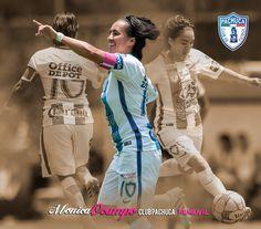 Mónica  Ocampo #10 Pachuca, Club, Champs