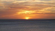 Caída del sol en la Rambla Williman, Punta del Este