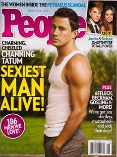 "People Taps Channing Tatum ""Sexiest Man Alive,"" 9 Days After Gossip Cop Reported It"
