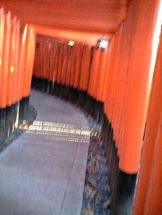 Fushimi Inari Jinja ③ in Kyoto.