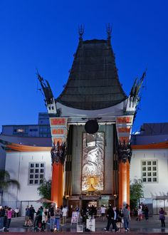 Grauman's Chinese Theatre Beverly Hills CA-10 by Randy Dorman
