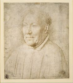 Jan van Eyck, Portrait of Cardinal Niccolò Albergati, about 1435