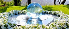 Allison Armour | Sphere Water Fountains | Aqualens
